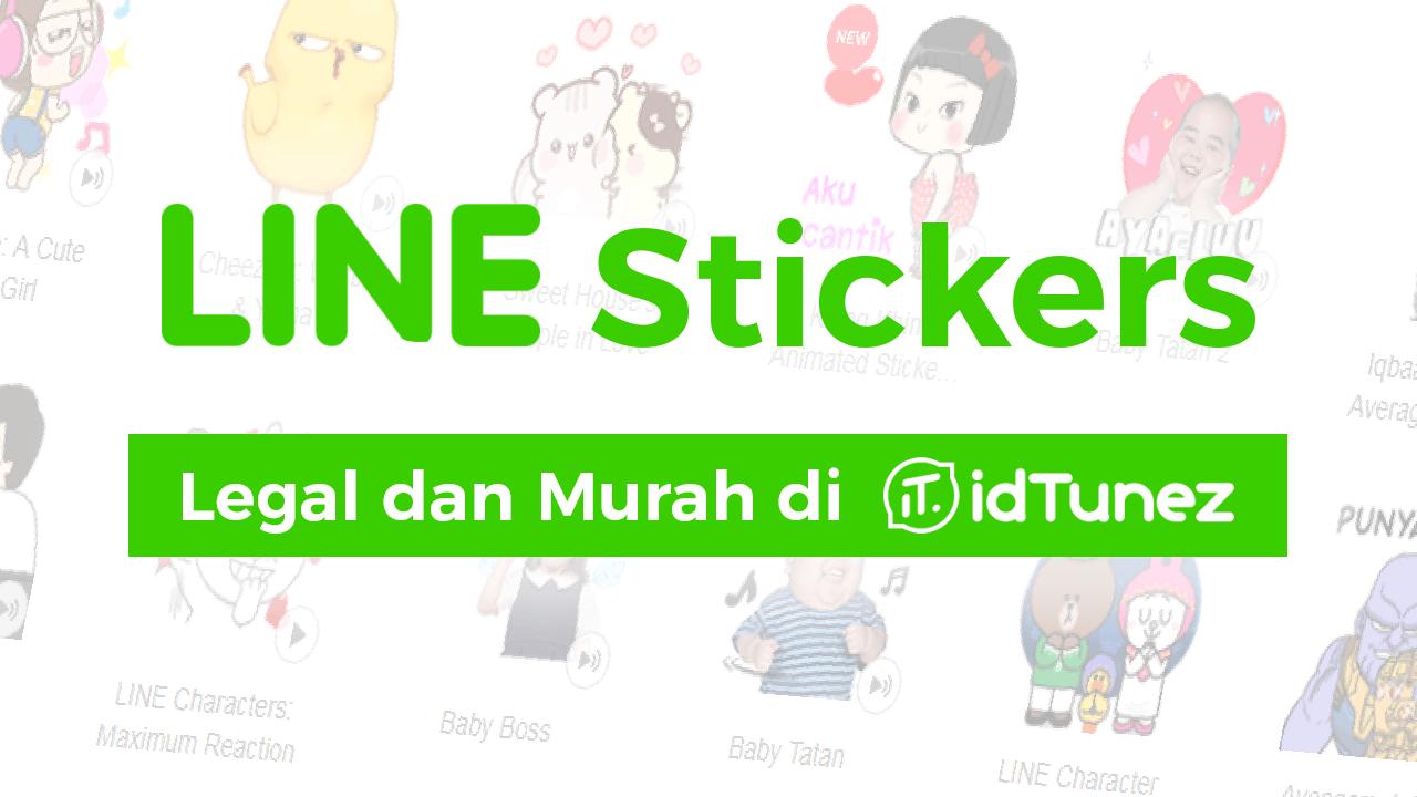 Sticker LINE Satuan Murah